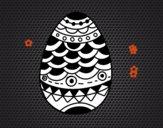 Ovo de Páscoa de estilo japonês