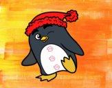 Pinguim com gorro natalício