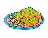 Tofu com vegetais