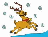 Desenho Uma rena do Natal pintado por LuizTacks