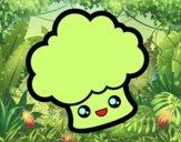Brócolis sorridente