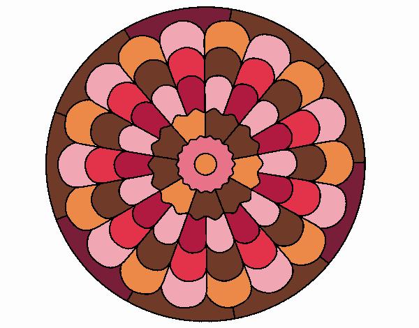 Desenho Mandala 23 pintado por Ritagomes1