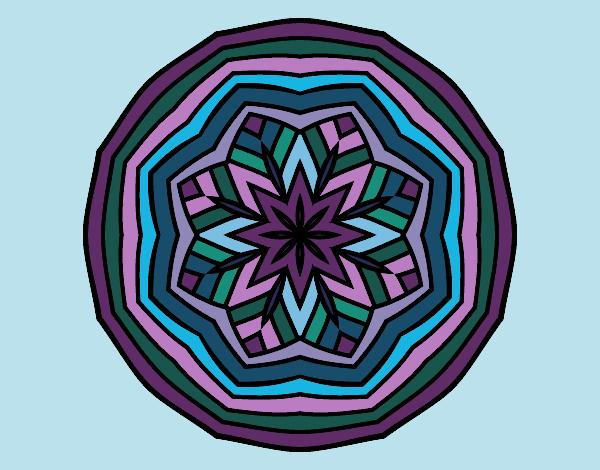 Desenho Mandala aéreo pintado por Ritagomes1