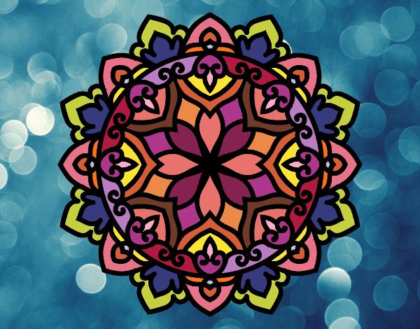 Desenho Mandala celta pintado por Ritagomes1