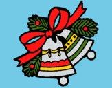 Desenho Sinos de natal pintado por Craudia