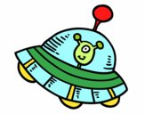 Extraterrestre na nave espacial