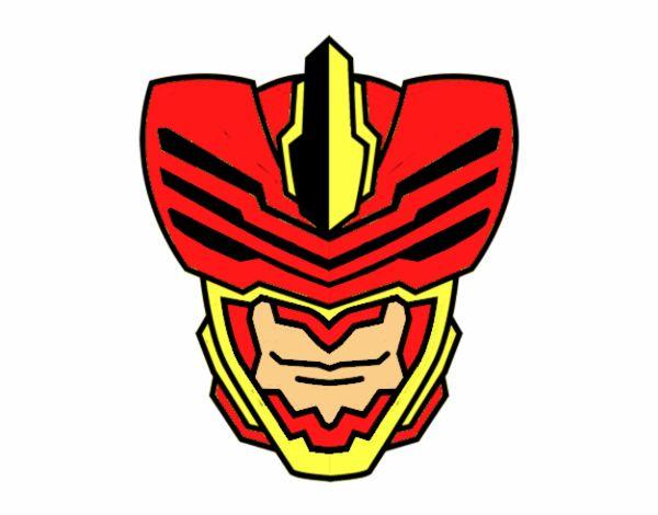 Máscara homem mosca