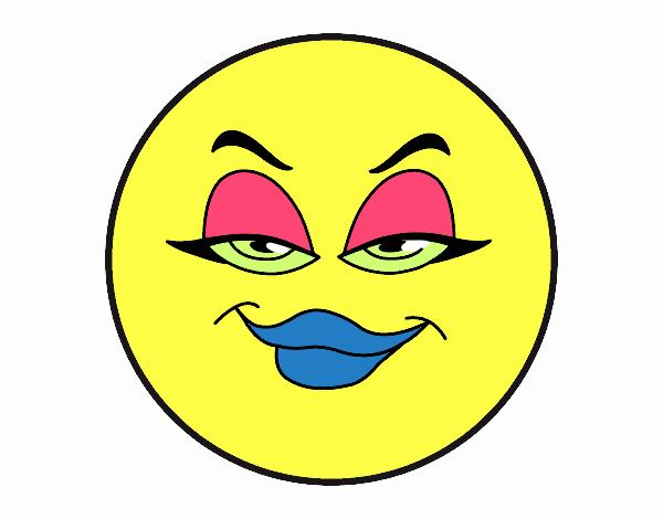 desenho de emojis pintado e colorido por usuário não registrado o
