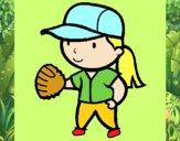Jogadora de basebol