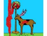 Vaca de cartão