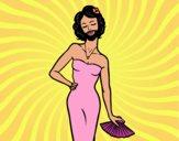 A mulher barbada