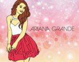 Desenho Ariana Grande pintado por Keithy
