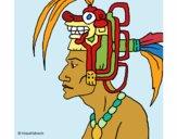 Desenho Chefe da tribo pintado por ThaySilvaa