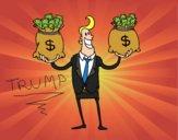 Desenho Empresário corrupto pintado por NdPraFazer
