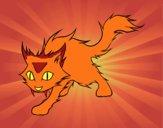 Desenho Gato Yule pintado por Bianca99