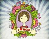 Desenho Homenagem a todas as mães pintado por ThaySilvaa