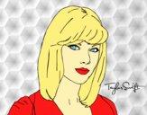Desenho Taylor Swift pintado por Keithy