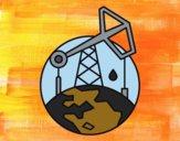 Desenho Bomba de vareta de sucção pintado por Craudia