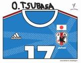 Camisa da copa do mundo de futebol 2014 do Japão