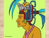 Desenho Chefe da tribo pintado por mcastrode