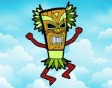 Desenho Deus maia pintado por mcastrode