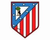 Emblema do Club Atlético de Madrid