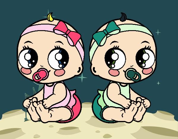 Gêmeos fêmea
