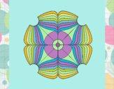 Desenho Mandala 16 pintado por nicknice