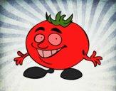 Desenho Senhor tomate pintado por Craudia