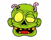 Zombie com vermes