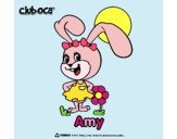 Desenho Amy pintado por ThaySilvaa