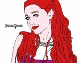 Ariana Grande com coleira