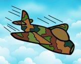 Desenho Avião da camuflagem pintado por Craudia