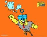 Bob Esponja - A Invencibolha para o ataque