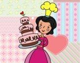 Bolo de aniversário caseiro