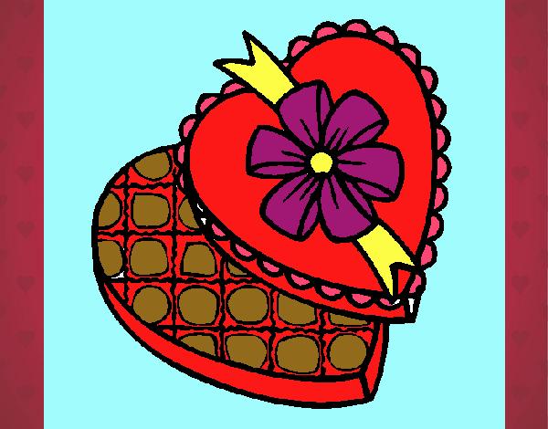Caixa de bombons