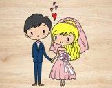 Casal realmente apaixonado