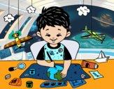 Desenho Criatividade das crianças pintado por yuuni