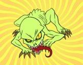 Desenho Ghoul pintado por NdPraFazer