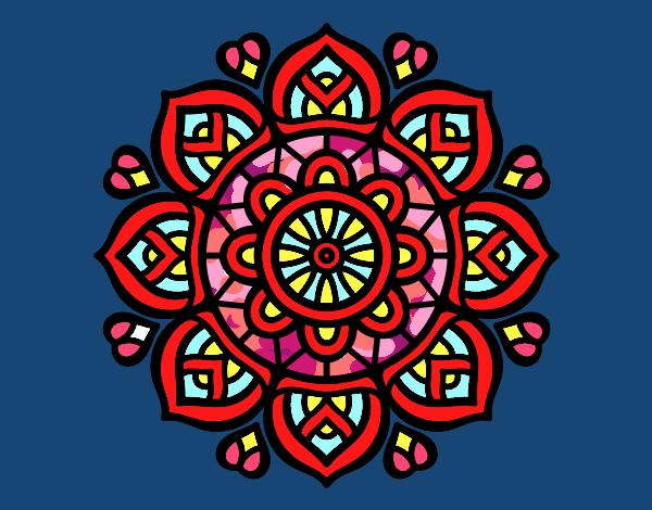 Mandala para a concentração mental