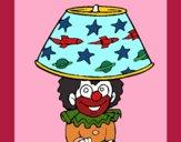 Desenho Palhaço lâmpada pintado por vivihsanto