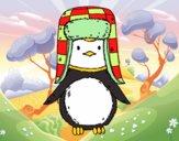 Pinguim com chapéu