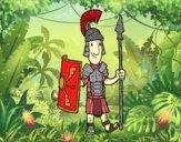 Um soldado romano