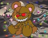 Desenho Ursito monstruoso pintado por ameireles