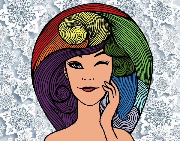 Volume de penteado