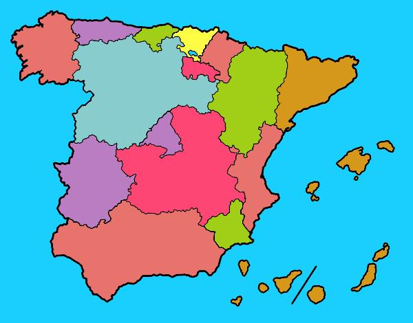 As Comunidades Autónomas de Espanha