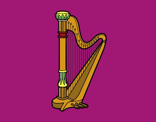 Uma harpa