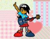 Menina rocker