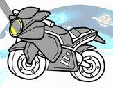Moto esportiva