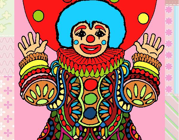 Desenho Palhaço disfarçado pintado por davidlessi